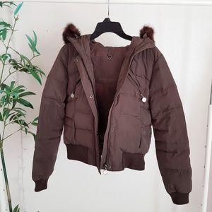 Zara puff down jacket